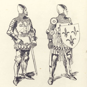 A14th century knights